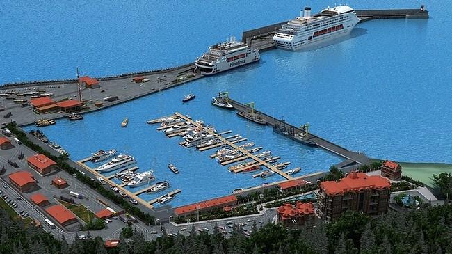 строительство терминала для круизных судов
