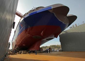 Спущен на воду ледокол «Новороссийск»