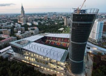В Москве завершили строительство стадиона ЦСКА