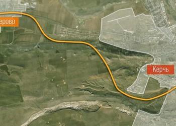 На строительстве Крымского моста началось возведение первой железнодорожной части
