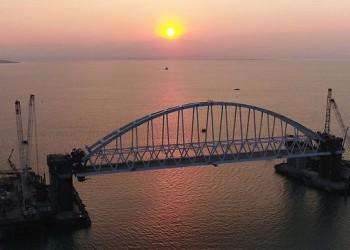 Железнодорожная арка Крымского моста поднята на проектную высоту