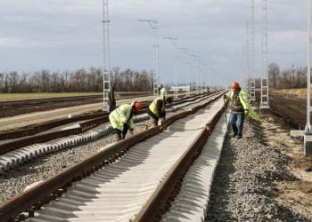Строительство Краснодарского железнодорожного обхода (Видео). Нобярь 2017
