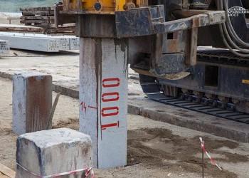 В основание керченского моста забита 1000-я свая