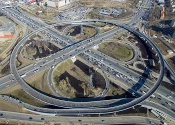 Завершена реконструкция развязки МКАД с Каширским шоссе