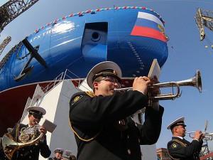 Спущен на воду атомный ледокол «Арктика»