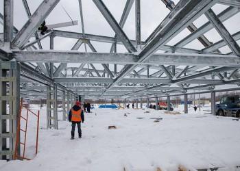 В Сахалинской области идёт строительство второй очереди свинокомплекса «Мерси Агро Сахалин»