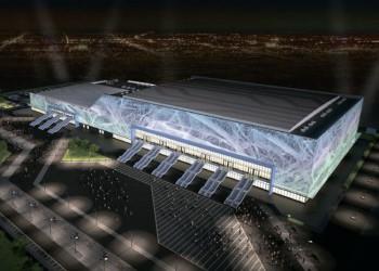 В Москве завершено строительство ледового дворца «Парк легенд»