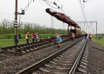 На Крымской железной дороге начался капитальный ремонт пути