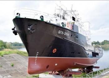 В Рыбинске спущен на воду гидрографический катер