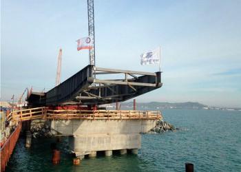 Начат новый этап строительства Керченского моста