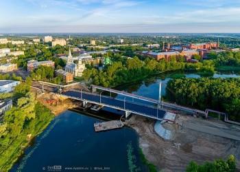 Мост через реку Которосль открыт в Ярославле