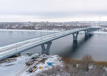В Балаково Саратовской области открыт новый мост
