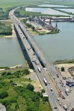 Аксайский мост через р. Дон