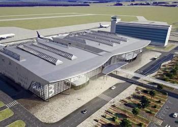 В Хабаровске продолжается строительство нового аэровокзала