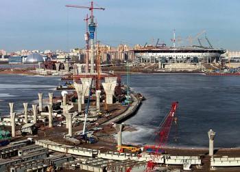 Строительство Западного скоростного диаметра Санкт-Петербурга