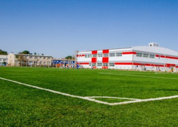 В Астраханской области построили новый спортивный комплекс