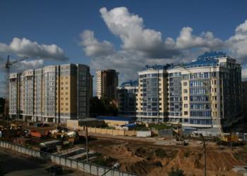 Более 1 млн квартир было введено в России в 2014 году, построен 81 млн м2 жилья