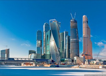 Завершено строительство башни «Эволюция» в «Москва-Сити»