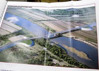 В Калуге начали строить третий мост через Оку