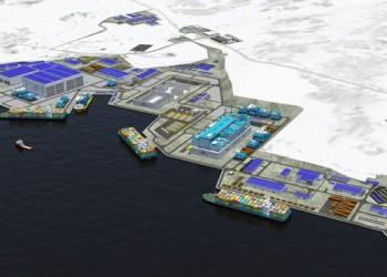 «Завод по производству заводов»: в Кольском проливе началась реализация проекта «Арктик СПГ-2»