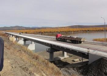 Сдан в эксплуатацию мост через реку Колыма на автотрассе «Якутск-Магадан»
