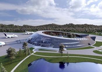 На Камчатке заложили первый камень на месте строительства аэротерминала