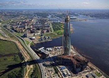 Самый высокий небоскреб Европы в России приближается к рекордной отметке