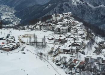 Горная Олимпийская деревня введена в эксплуатацию