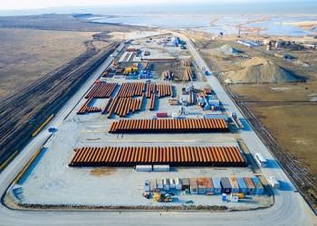 Для строительства Керченского моста к месту работ доставили более 3 млн тонн грузов