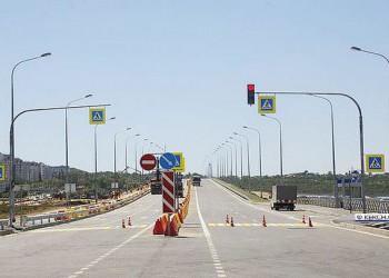 В Керчи открыта эстакада шоссе Героев Сталинграда