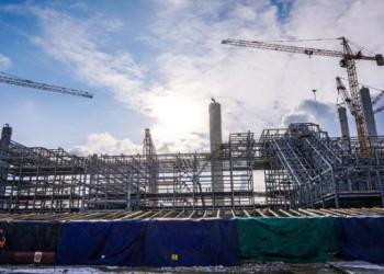 Строительство «ЗапСибНефтехим» в декабре 2016 года