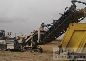 Ход строительства участка трассы «Таврида»