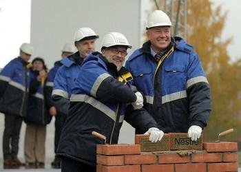 В Вологде началось строительство фабрики по производству детских смесей
