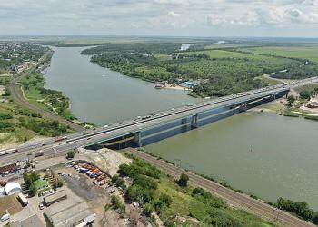На трассе М4 после реконструкции открылся Аксайский мост через р. Дон