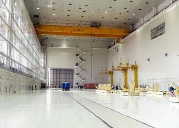 Ракета «Союз-2.1а» размещена в монтажно-испытательном корпусе космодрома Восточный