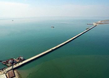 По технологическому мосту (РМ-1) через Керченский пролив прошли первые грузовики