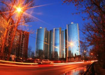 В Санкт-Петербурге построили первый жилой небоскреб
