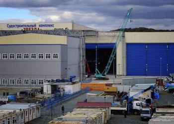 Судоверфь «Звезда» получила заказ на пять крупнотоннажных танкеров типа «Афрамакс»