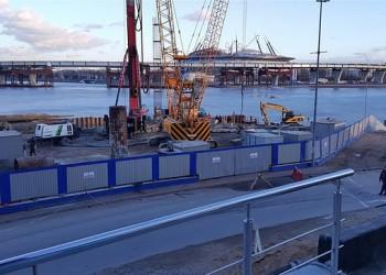 В Санкт-Петербурге началось строительство моста через Большую Невку