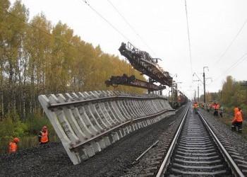 На Горьковской магистрали установлен рекорд по замене пути по технологии «закрытого перегона»