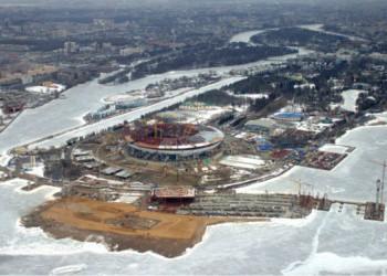 В Санкт-Петербурге началось строительство станции метро «Новокрестовская»