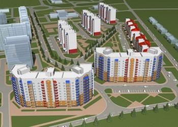 Новый микрорайон для атомщиков строится в Нововоронеже