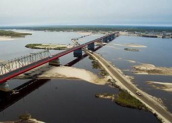 Открылось автомобильное движение по мосту через р.Надым