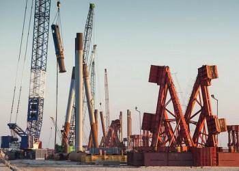 Строители завершили погружение свай на всех сухопутных участках автодорожной части Крымского моста