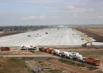 Продолжается реконструкция аэродрома Энгельс по 2 и 3 этапам