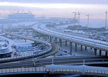 В Санкт-Петербурге открыт центральный участок Скоростного Западного Диаметра