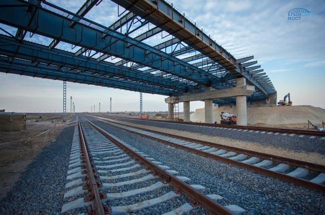 Строительство моста в Крым