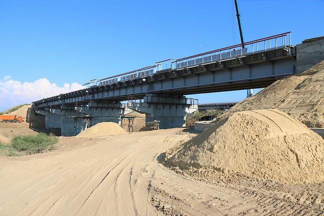 Железнодорожная ветка к Крымскому мосту