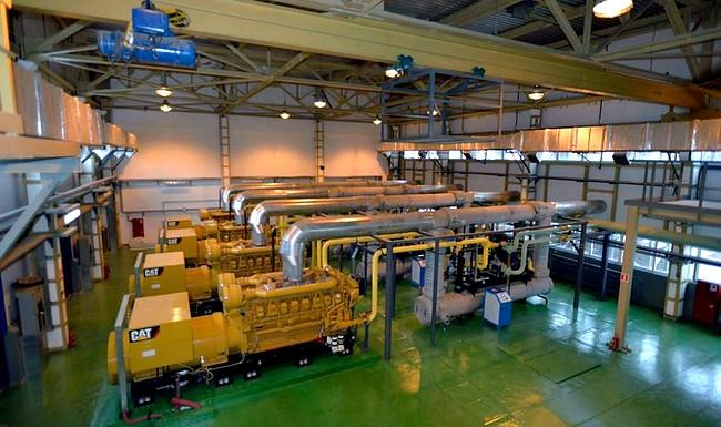 дизельная электростанция