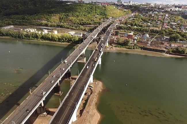 Новый мост в Черниковке